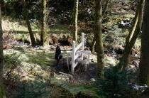 'Concrete Country in White' at Grizedale Forest, the Lake District